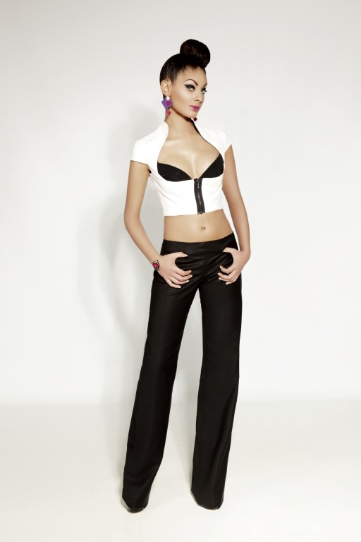 Sexy SPY Cropped Top & Badass Pants